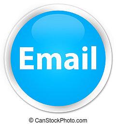 Email premium cyan blue round button
