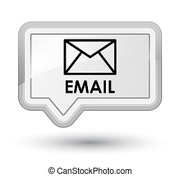 Email prime white banner button