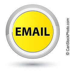 Email prime yellow round button