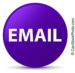 Email purple round button