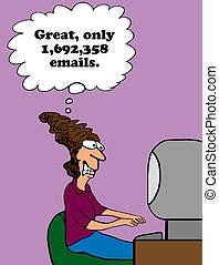email, sovraccarico