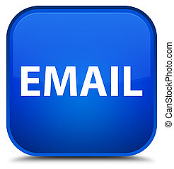Email special blue square button