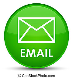 Email special green round button