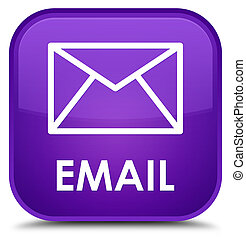 Email special purple square button