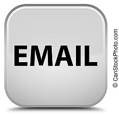 Email special white square button