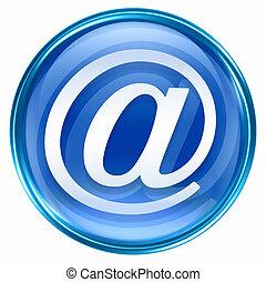 email symbol blue