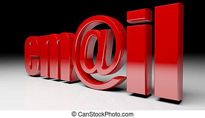 email, testo