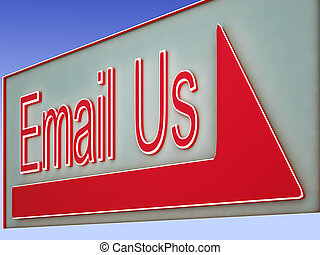 Email Us Button Shows Online Assistance