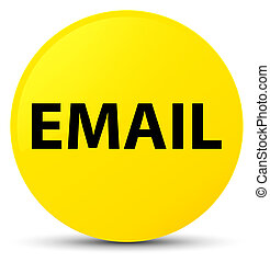 Email yellow round button