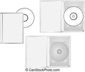embalagem, dvd, multimedia