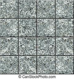 embaldosado, -, seamless, textura, vector, azulejo, granito