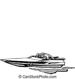 emballage automatique, bateau
