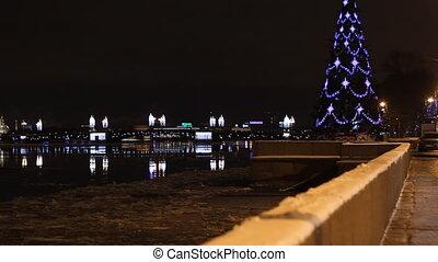 Embankment in St Petersburg