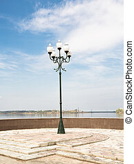 Embankment of Rybinsk
