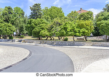 Embankment of the city of Zadar. - Embankment of the city of...