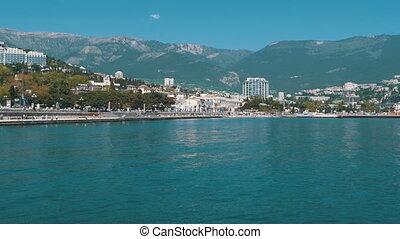 Embankment of Yalta. Crimea - The embankment of Yalta....