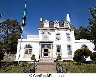 Embassy Zambia Washington DC Second Empire Style - Embassy...