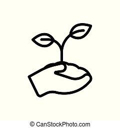 embed, 白, ベクトル, 隔離された, アウトライン, バックグラウンド。, illustration., icon.