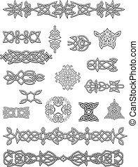 embellishments, keltisch, verzierungen