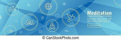 embellishments, nät, baner, symbol, mandala, zen, dykning, ...