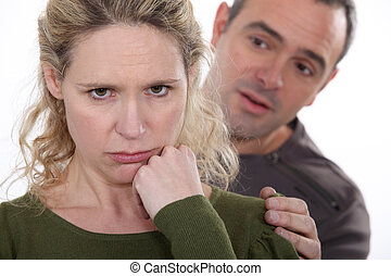 ember, fárasztó, to vígasztaló, övé, ingerlékeny, feleség
