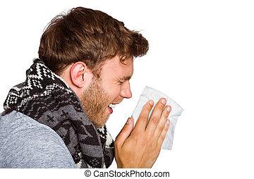 ember, fúvott orr