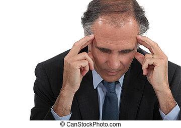 ember, fejfájás