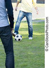 ember, játék futball