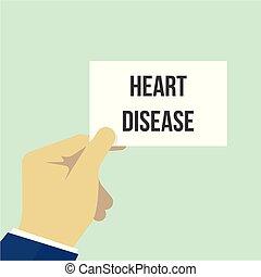 ember, kiállítás, papír szív, betegség, szöveg