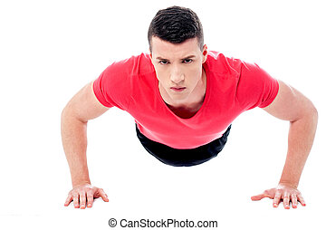 ember, push-ups, fiatal