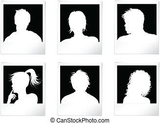 emberek, avatars