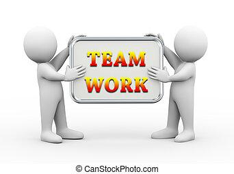 emberek, munka, bizottság, birtok, befog, 3