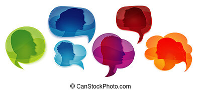 emberek, profile., emberek., information., társadalmi, ...