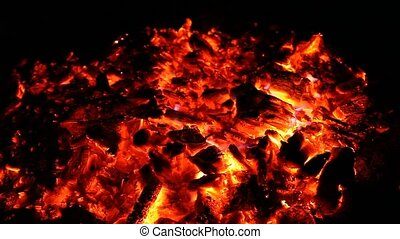 Embers of big fire - Embers and ashes of mighty big fire