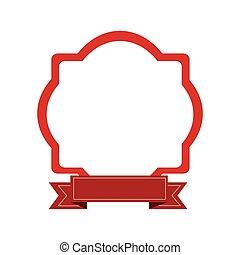 emblème, embellished, icône, image