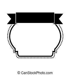 emblème, image, étiquette, icône, ou, embellished