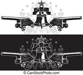emblème, liberté