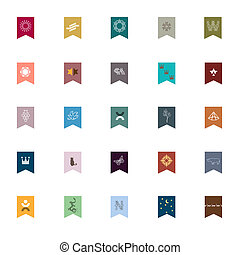 emblèmes, éléments, conception