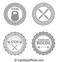 emblèmes, ensemble, sports