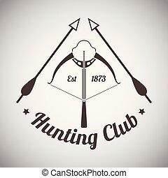 embléma, vadászat
