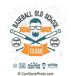 Emblem baseball team