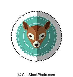 emblem bear hunter city icon