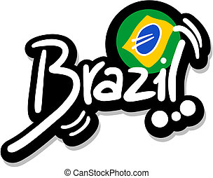 Emblem brazil - Creative design of emblem brazil