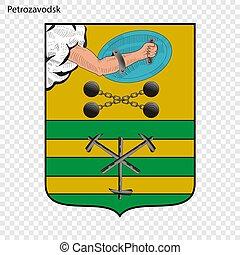 Emblem City of Russia.