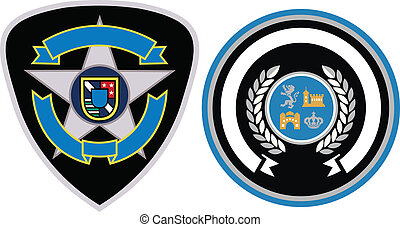 emblem, design, fleck