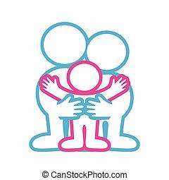 emblem-family-love - sign - parental custody