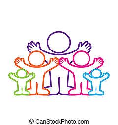 emblem-family - template-symbol - the family