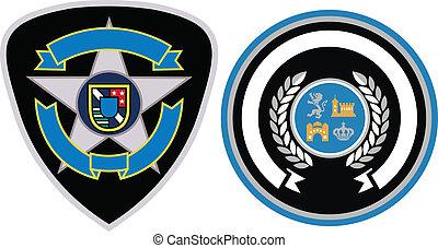 emblem, fleck, design