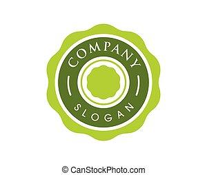 emblem, kreis, design, abbildung