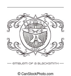 Emblem Of a Blacksmith